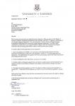 南京信息工程大学大四生获得爱尔兰利莫瑞克大学软件工程硕士条件录取通知书