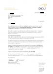 甘肃高三在读生获得都柏林城市大学计算机应用专业录取通知书