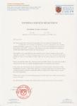 广东高级中学毕业生获得卡洛理工学院会计本科录取通知书