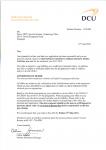 南京的大专毕业生获得爱尔兰都柏林城市大学人力资源管理硕士录取通知书