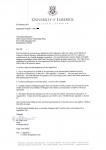 爱尔兰高威梅雅理工学院大四生获得爱尔兰利莫瑞克大学人力资源管理硕士录取通知书