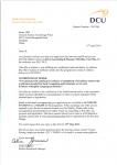上海师范大学剑桥国际中心学生获得爱尔兰都柏林城市大学金融和会计录取通知书