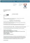 首都师范大学附属桂林实验中学毕业生获得爱尔兰沃特福德理工学院酒店管理本科录取通知书