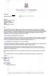 广东外语外贸大学毕业生获得利莫瑞克大学商业管理录取通知书